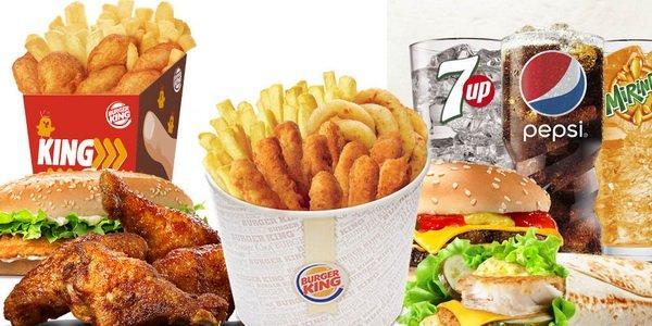Оснвые блюда Бургер Кинг